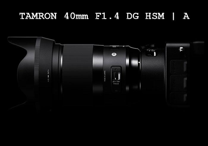 سیگما لنز 40mm F1.4 DG HSM I A را عرضه کرد