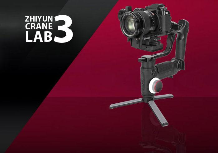 Zhiyun-Tech رو نمایی کرد Crane 3-Lab