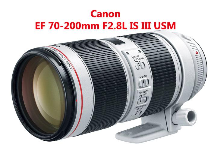 کانن رونمایی کرد EF 70-200mm F2.8L IS III USM