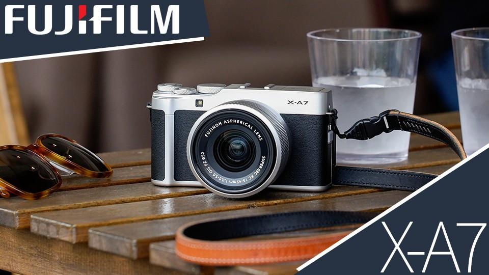 معرفی دوربین دیجیتال X-A7 Mirrorless محصول جدید فوجی