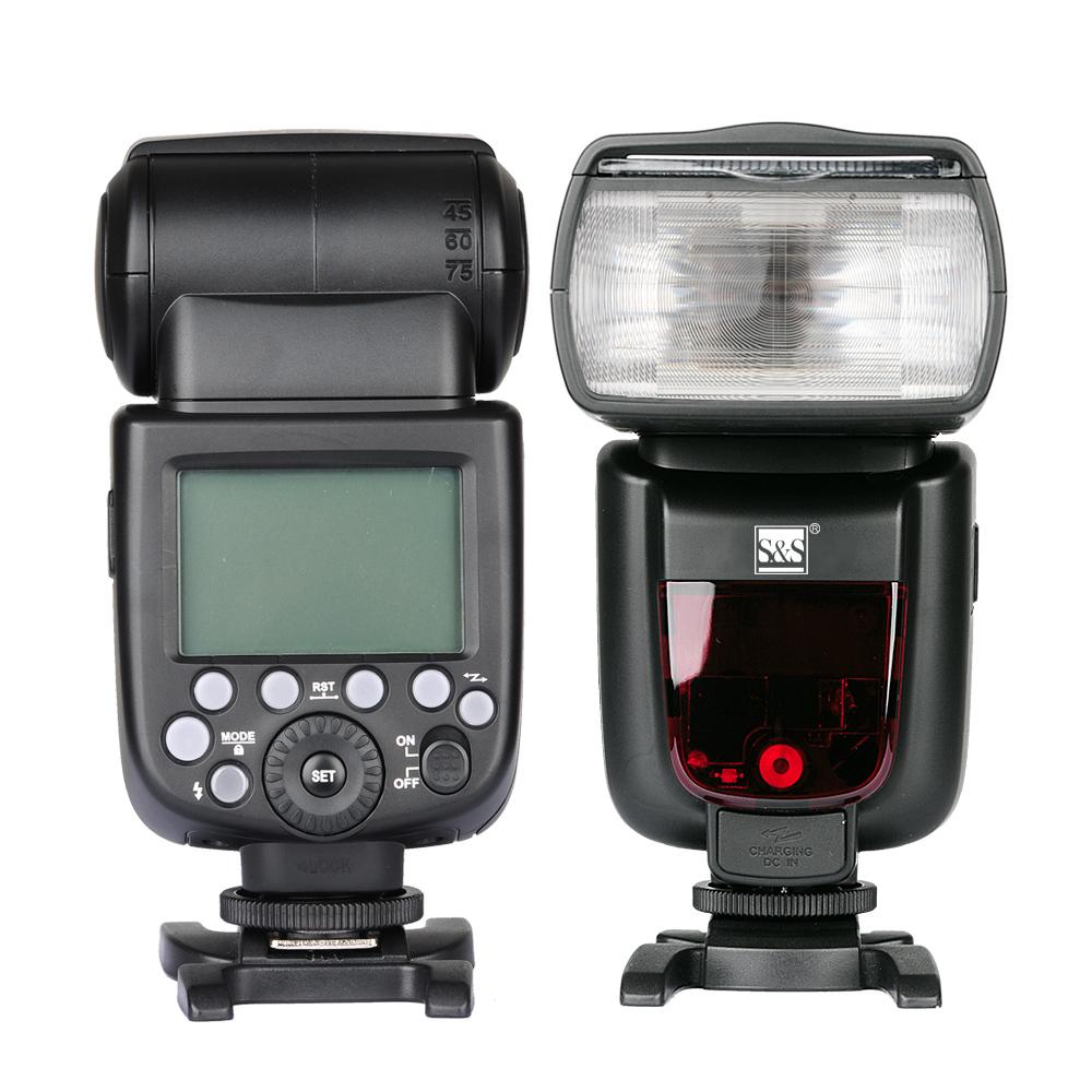 فلاش اکسترنال اس اند اس مدل TT685 مناسب برای دوربین نیکون