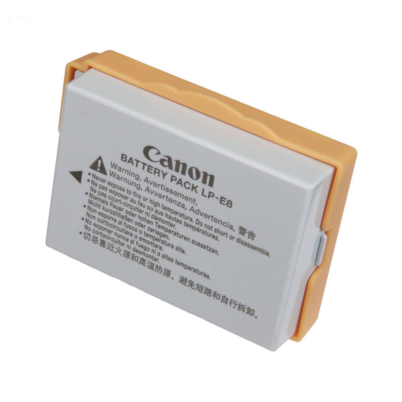 باتری کانن LP-E8 طرح اصلی
