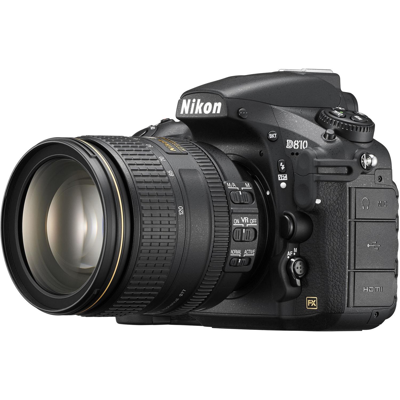 دوربین نیکون مدل D810 همراه با لنز 120-24 میلیمتر VR