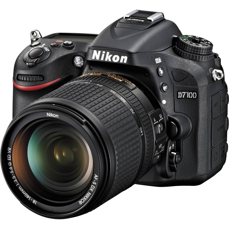دوربین نیکون مدل D7100 همراه با لنز 140-18 میلیمتر VR