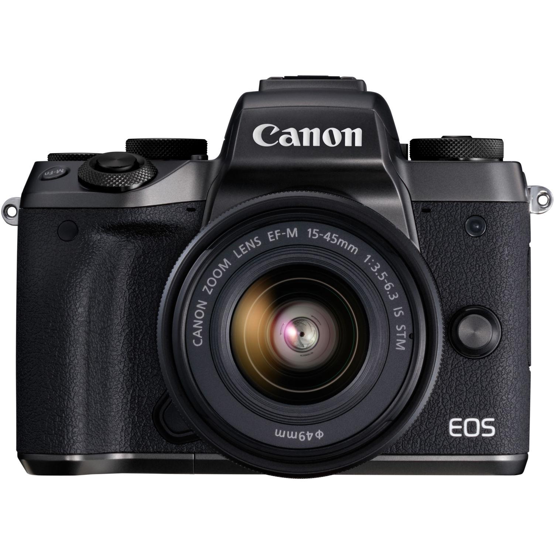 دوربین کانن مدل EOS M5 همراه با لنز 45-15 میلیمتر STM