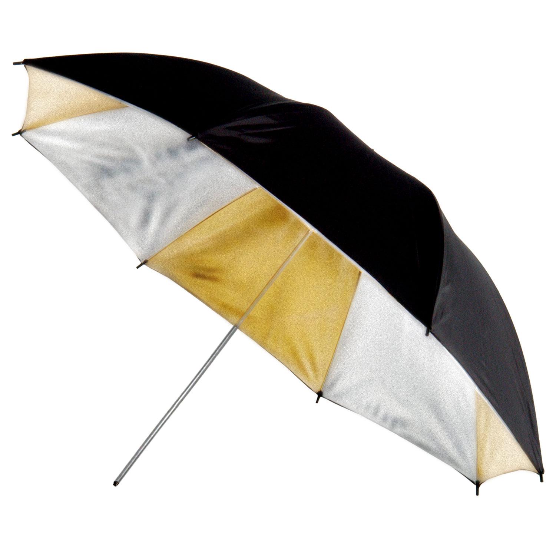 چتر طلایی / نقره ایی / مشکی  90 سانتی متر S39