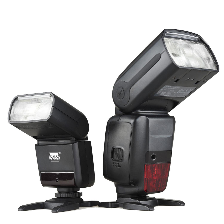فلاش اکسترنال اس اند اس مدل TT350 مناسب دوربین های کانن