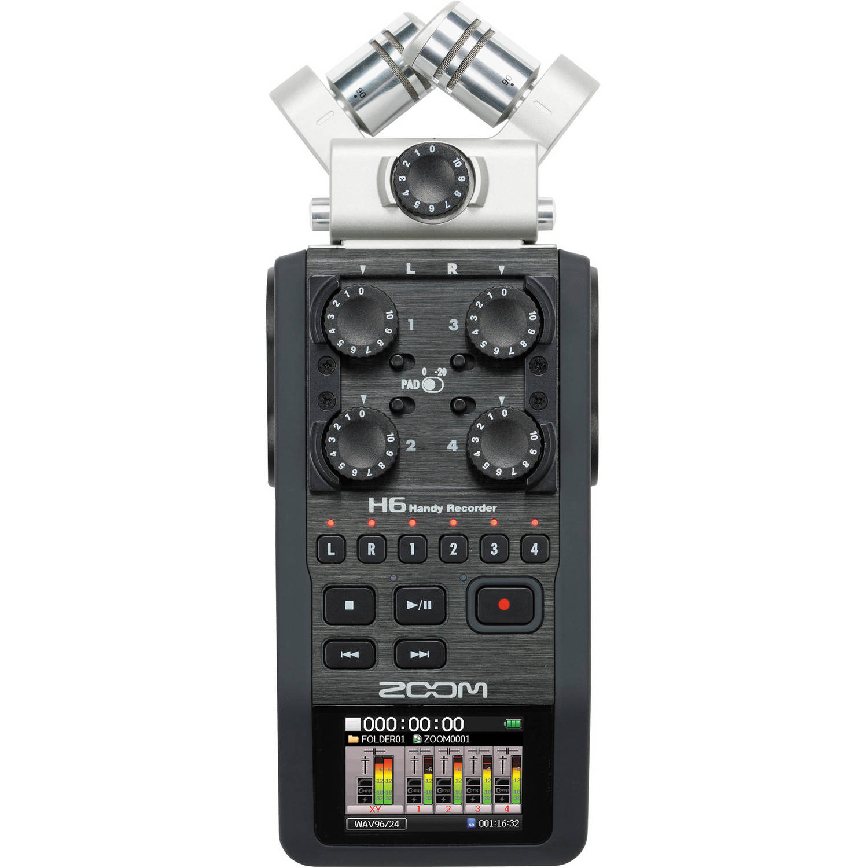 رکوردر زوم صدا Zoom H6