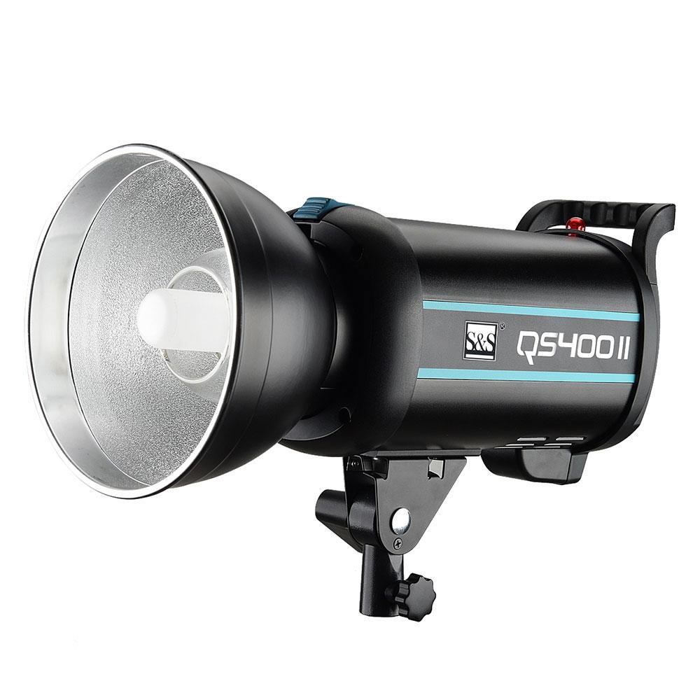 فلاش استودیویی اس اند اس مدل QS400II