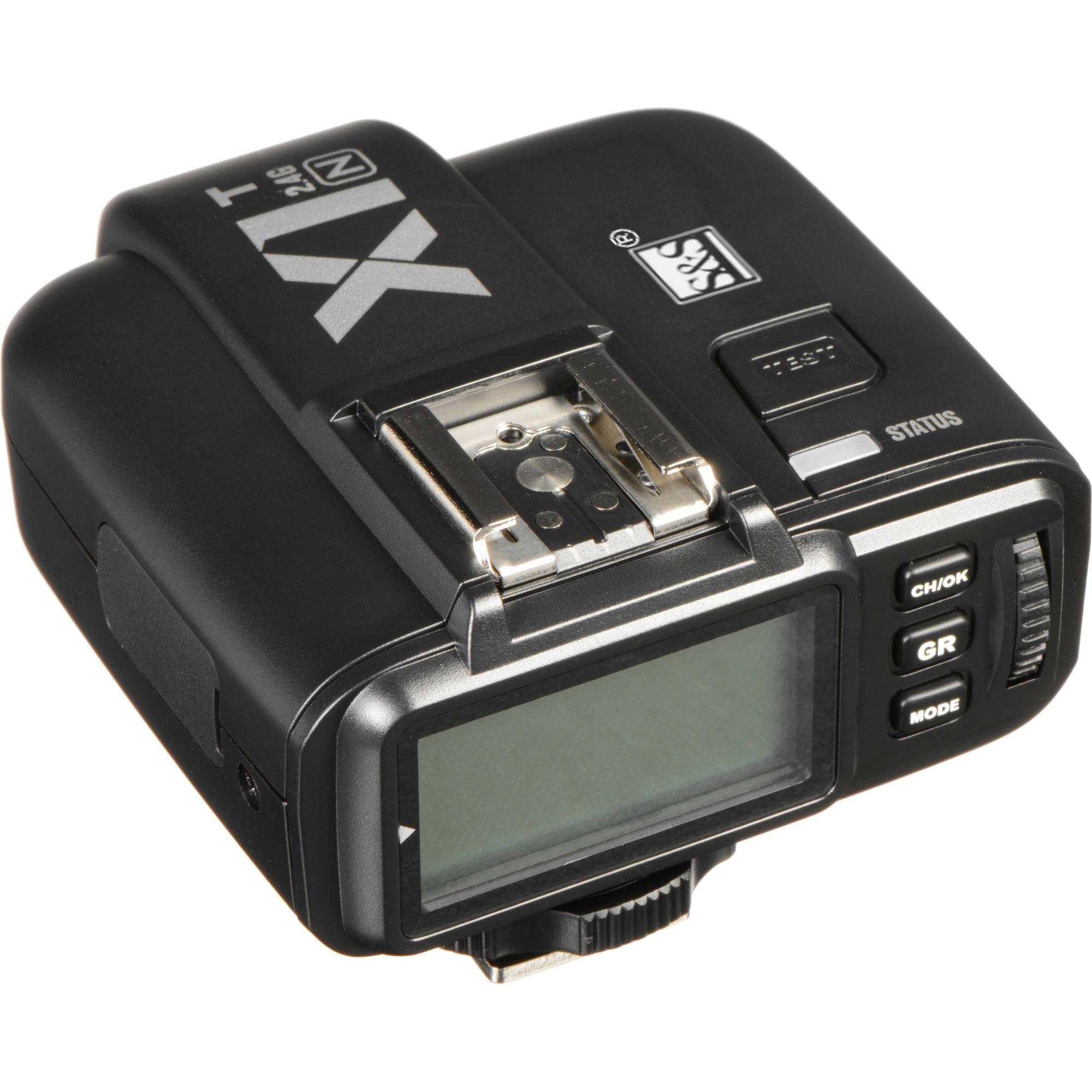رادیو فلاش اس اند اس مدل X1 مناسب برای دوربین کانن