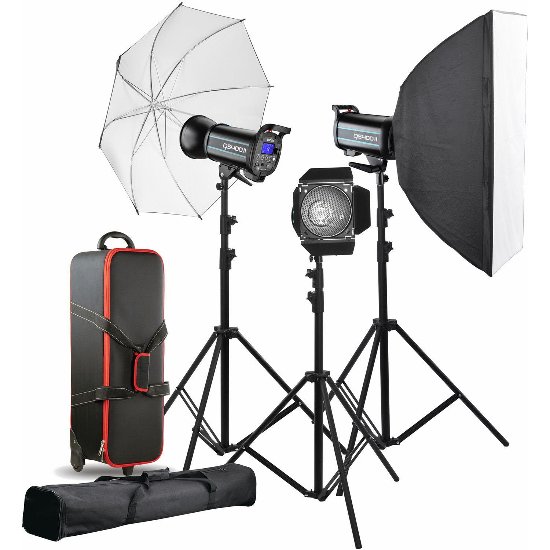 کیت فلاش استودیویی اس اند اس مدل QS400II