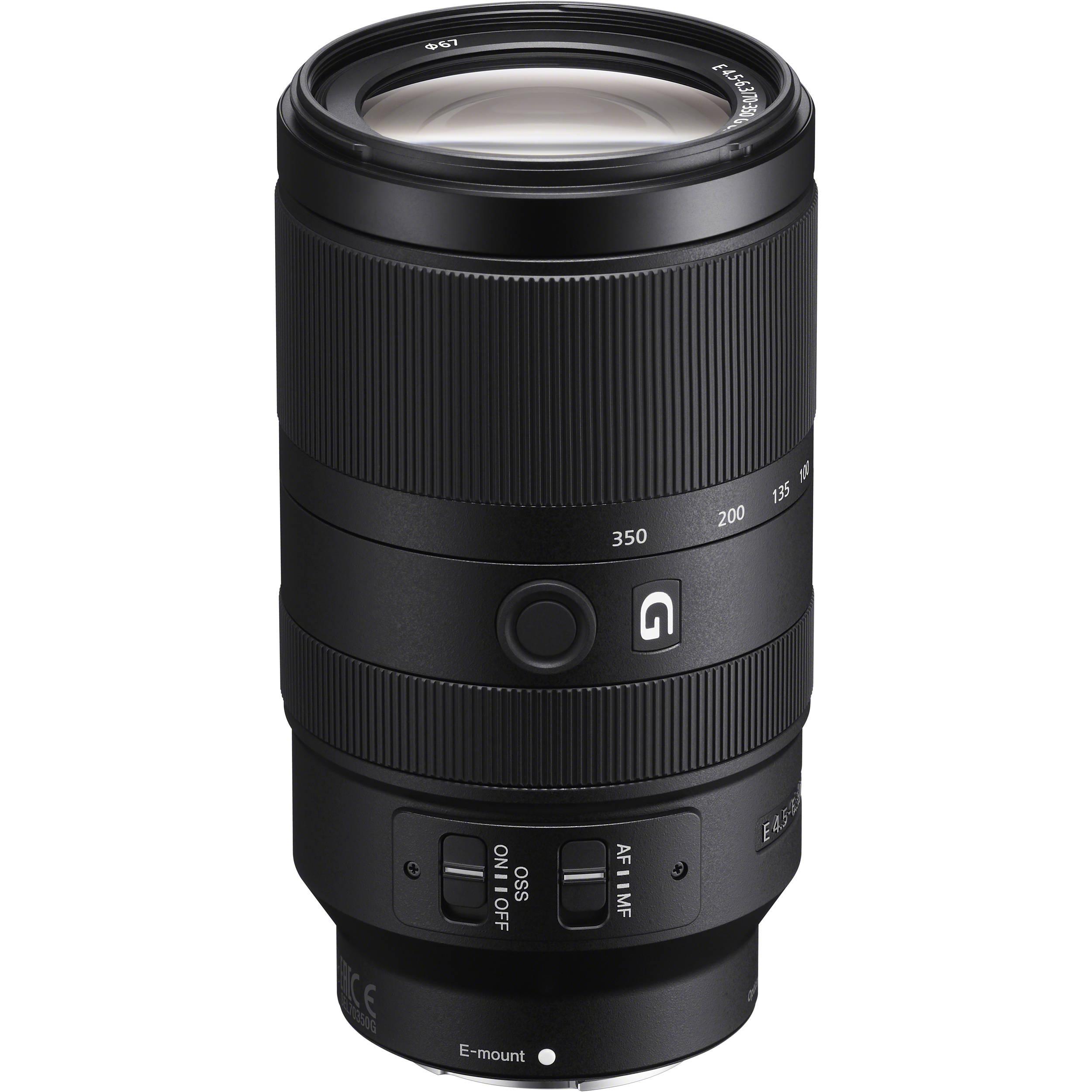 لنز سونی مدل 350-70 میلیمتر مدل f/4.5-6.3 G OSS