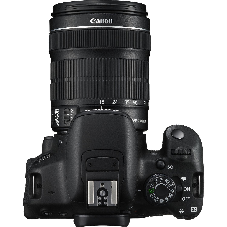 canon EOS 700D-18-135 STM