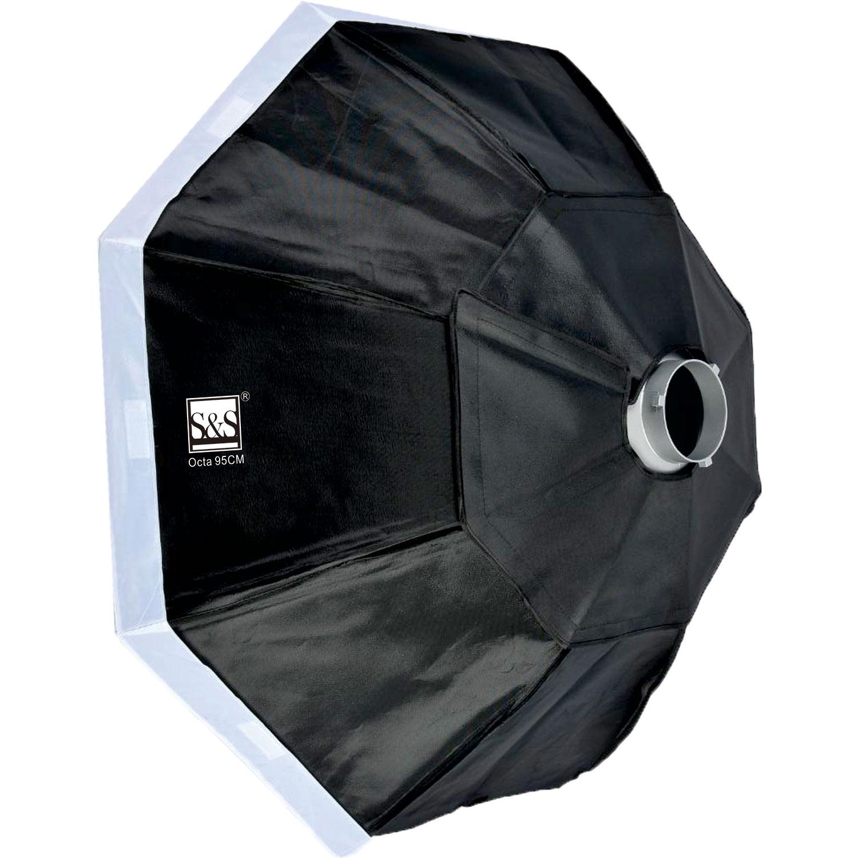 سافت باکس بدون زنبوری 95 سانتی متر اس اند اس        S&S Octa Box 95cm