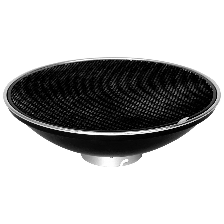کاسه سافت لایت زنبوری دار (بیوتی دیش) 40 سانتی متر    Beauty Dish With Grid 40CM /LD942