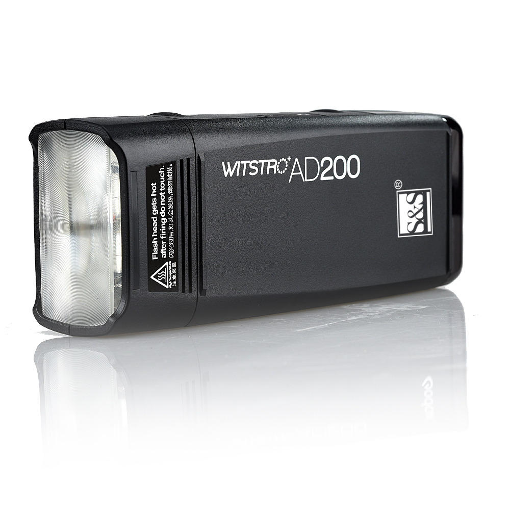 فلاش جیبی  AD200اس اند اس         S&S Pocket Flash AD200