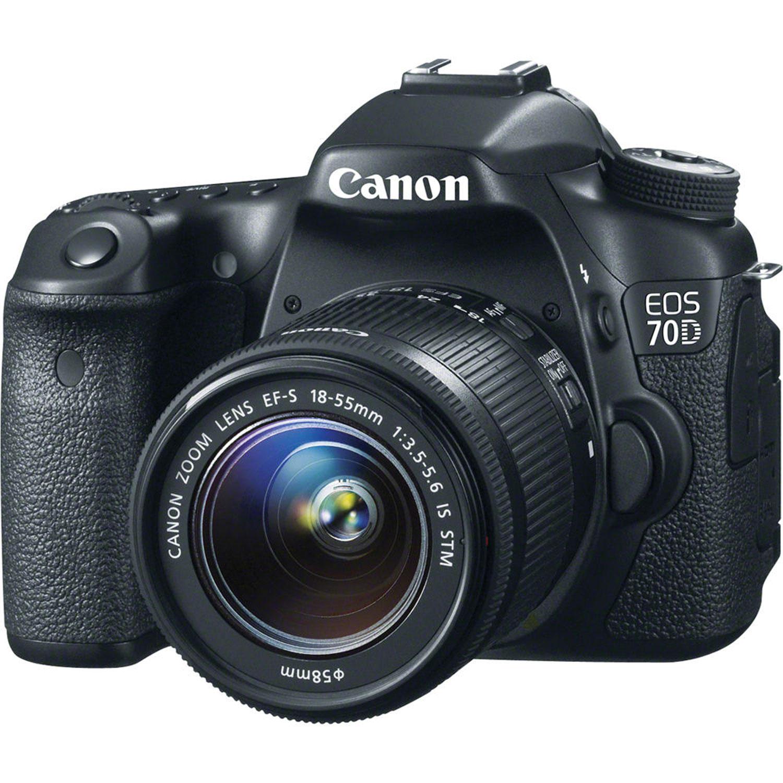 canon EOS 70D-18-55 mm