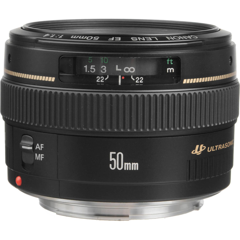 لنز کانن      Canon EF 50mm f/1.4 USM Lens