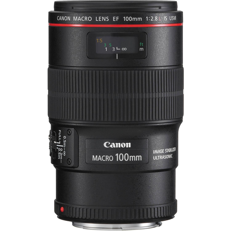 لنز کانن      Canon EF 100mm f/2.8L Macro L USM Lens