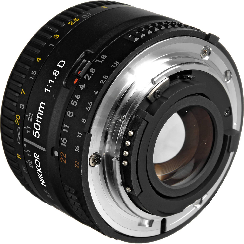 لنز نیکون      Nikon AF NIKKOR 50mm f/1.8D Lens