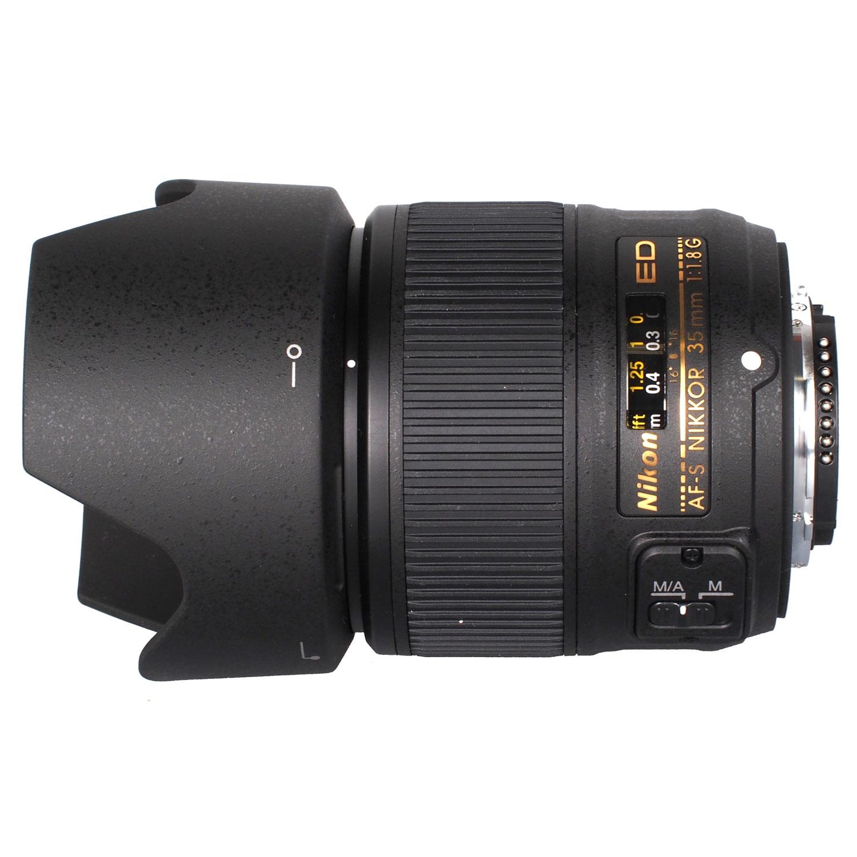 لنز       Nikon AF-S NIKKOR 35mm f/1.8G ED Lens
