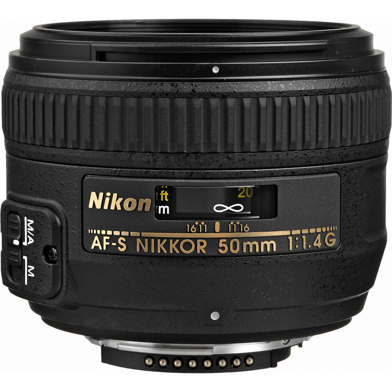 لنز نیکون        Nikon AF-S NIKKOR 50mm f/1.4G Lens