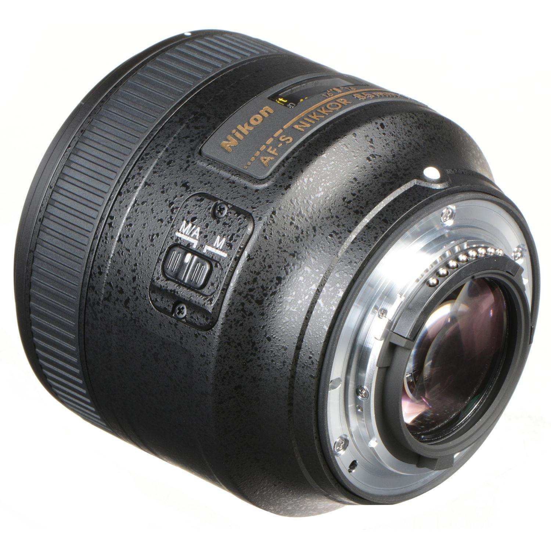 لنز نیکون      Nikon AF-S NIKKOR 85mm f/1.8G Lens