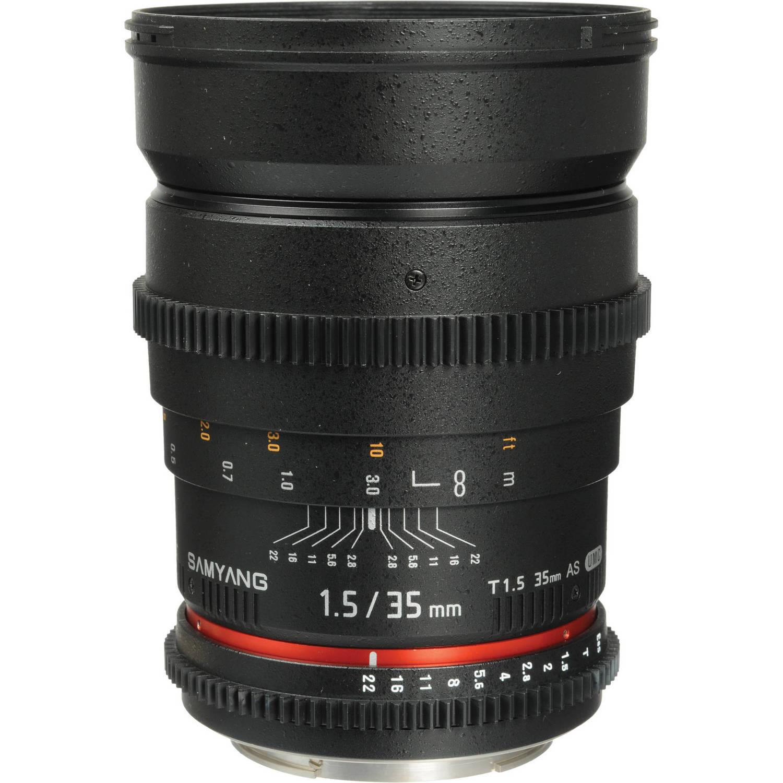 لنز سامیانگ  Samyang 35mm T1.5 Cine Lens for Canon EF