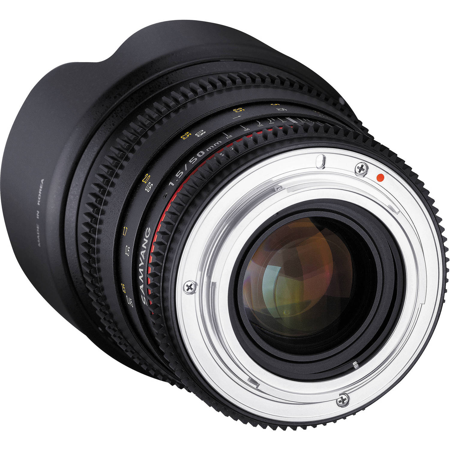 لنز سامیانگ    Samyang 50mm T1.5 VDSLR AS UMC Lens for Canon EF Mount