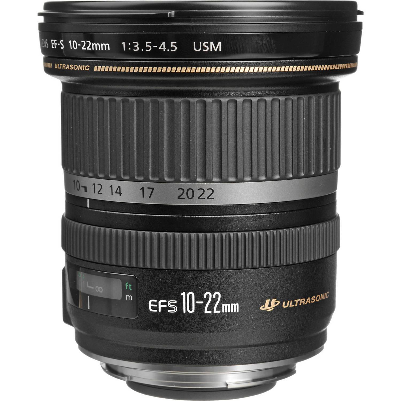 لنز کانن    Canon EF-S 10-22mm f/3.5-4.5 USM Lens
