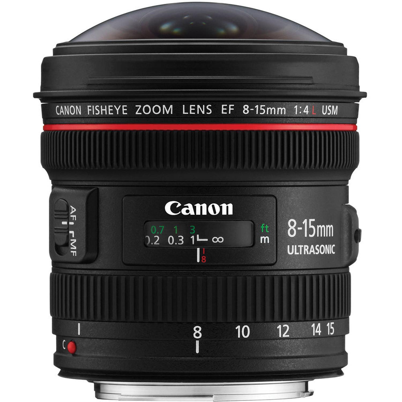 لنز نیکون    Canon EF 8-15mm f/4L Fisheye USM Lens