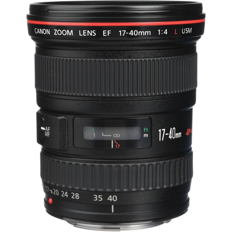 لنز کانن    Canon EF 17-40mm f/4L USM Lens
