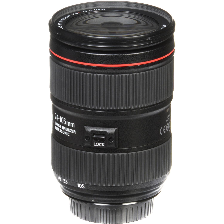 لنز کانن     Canon EF 24-105mm f/4L IS II USM Lens