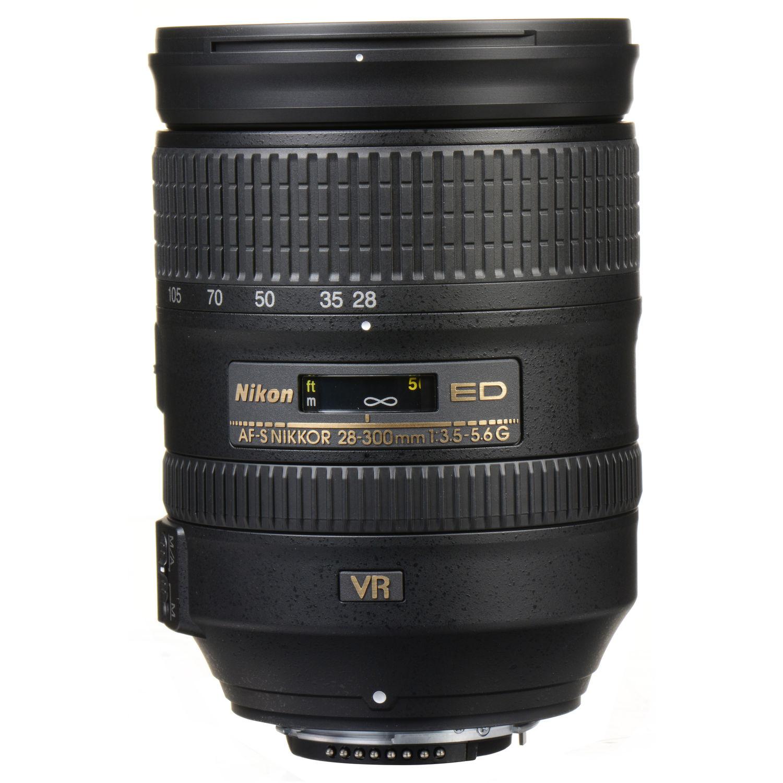 لنز نیکون    Nikon AF-S NIKKOR 28-300mm f/3.5-5.6G ED VR Lens