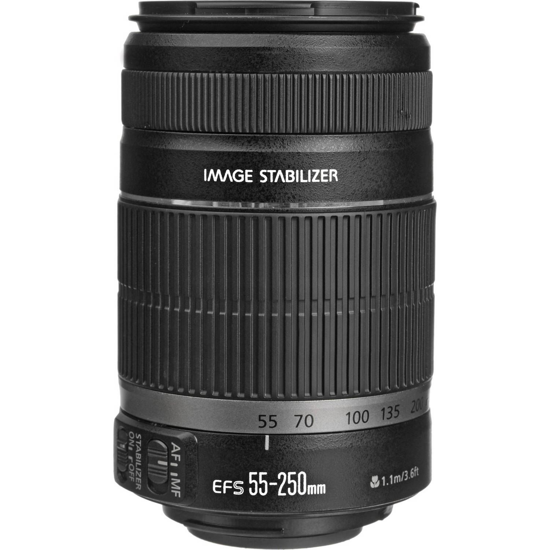 لنز کانن    Canon EF-S 55-250mm f/4-5.6 IS II   Lens