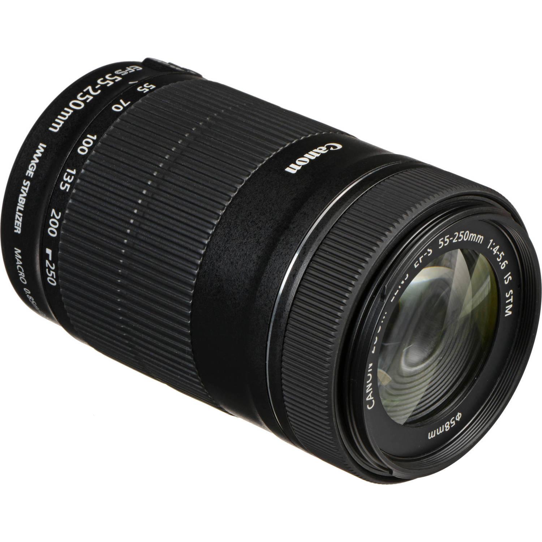 لنز کانن   Canon EF-S 55-250mm f/4-5.6 IS STM Lens