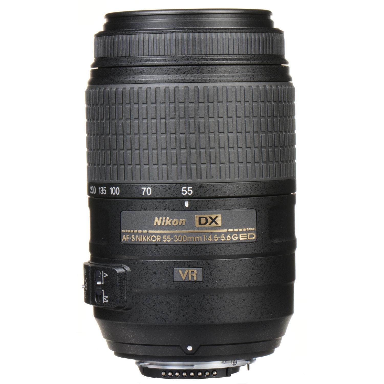 لنز نیکون    Nikon AF-S DX NIKKOR 55-300mm f/4.5-5.6G ED VR Lens