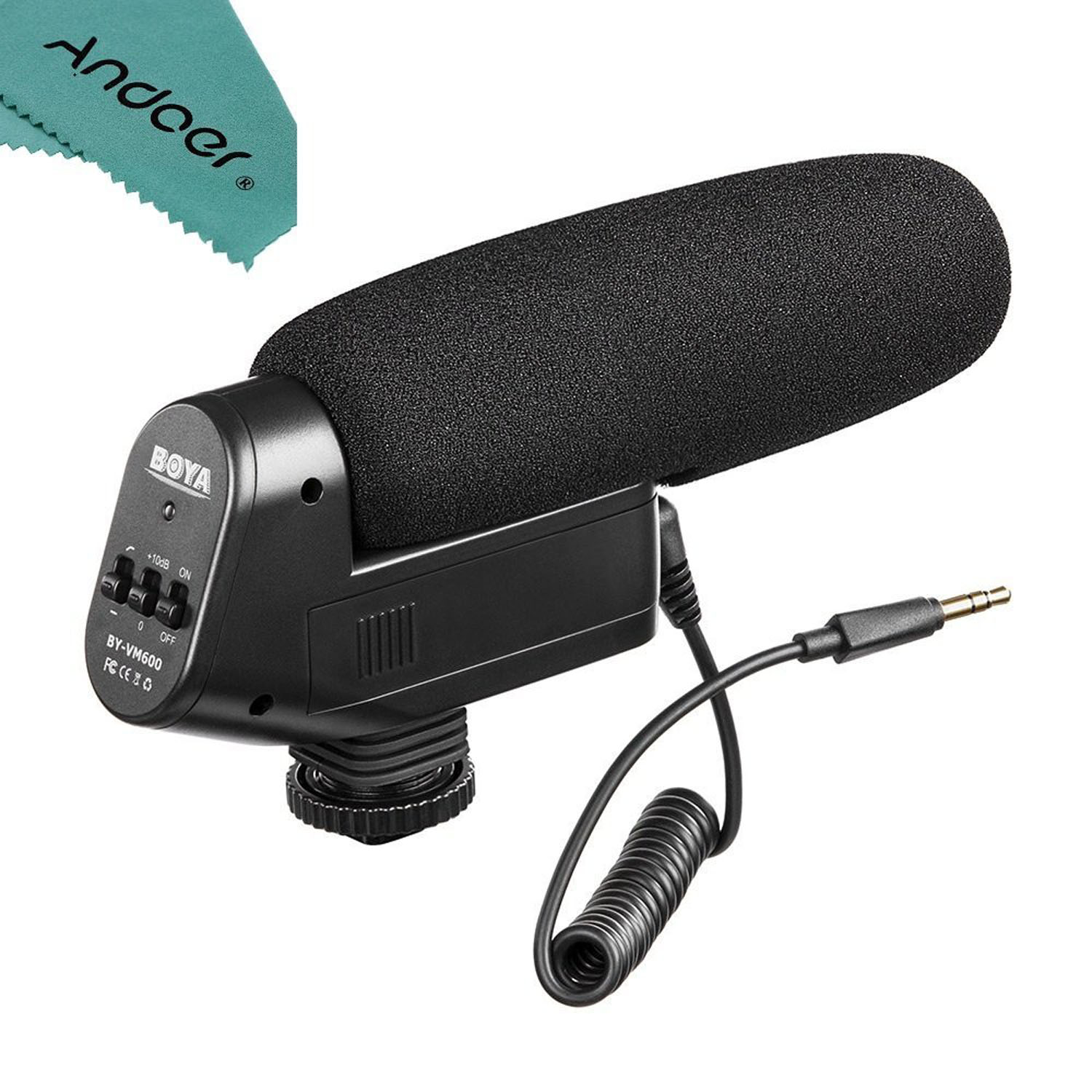 میکروفن بویا      Microphone BY-VM600 BOYA