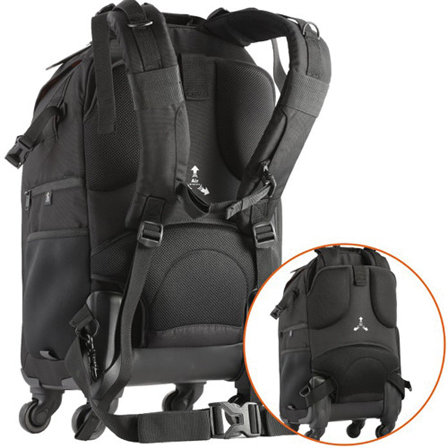 کیف ونگارد      (Vanguard The Heralder 51T Rolling Backpack (Black