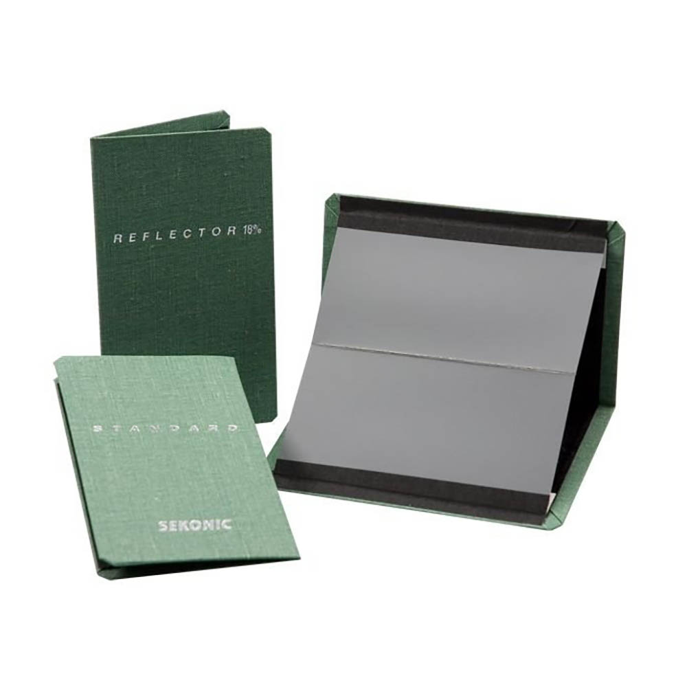 کارت خاکستری 18 درصد      Sekonic Gray card 18%