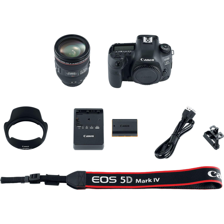 دوربین کانن   Canon EOS 5D IV 24-70mm f/4L Lens