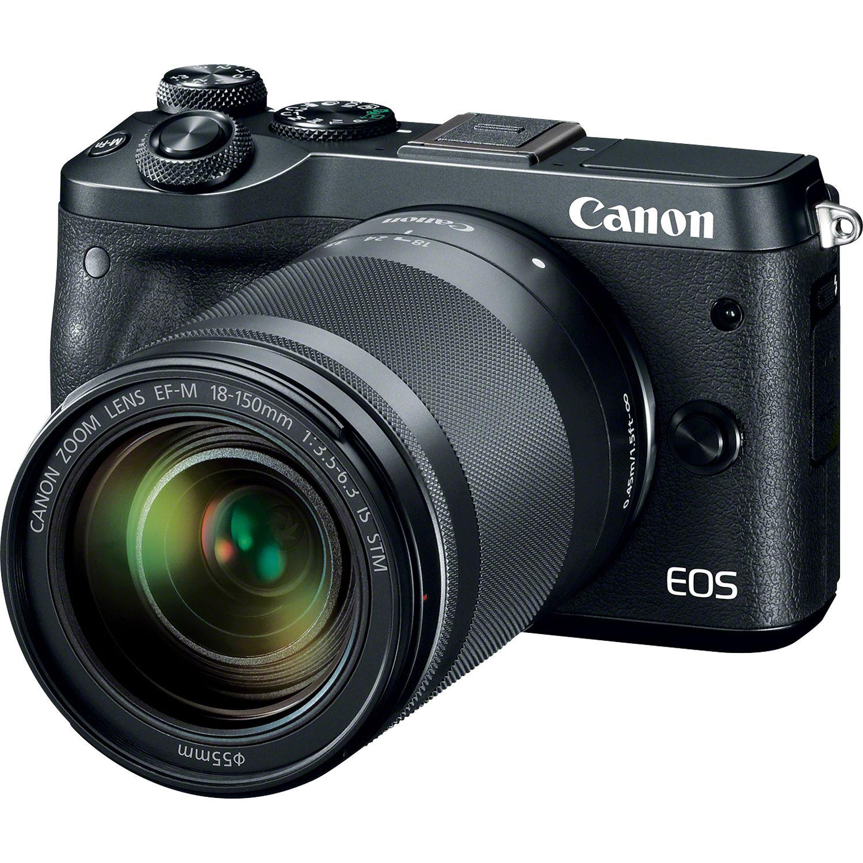 دوربین کانن Canon EOS M6+18-150mm Lens