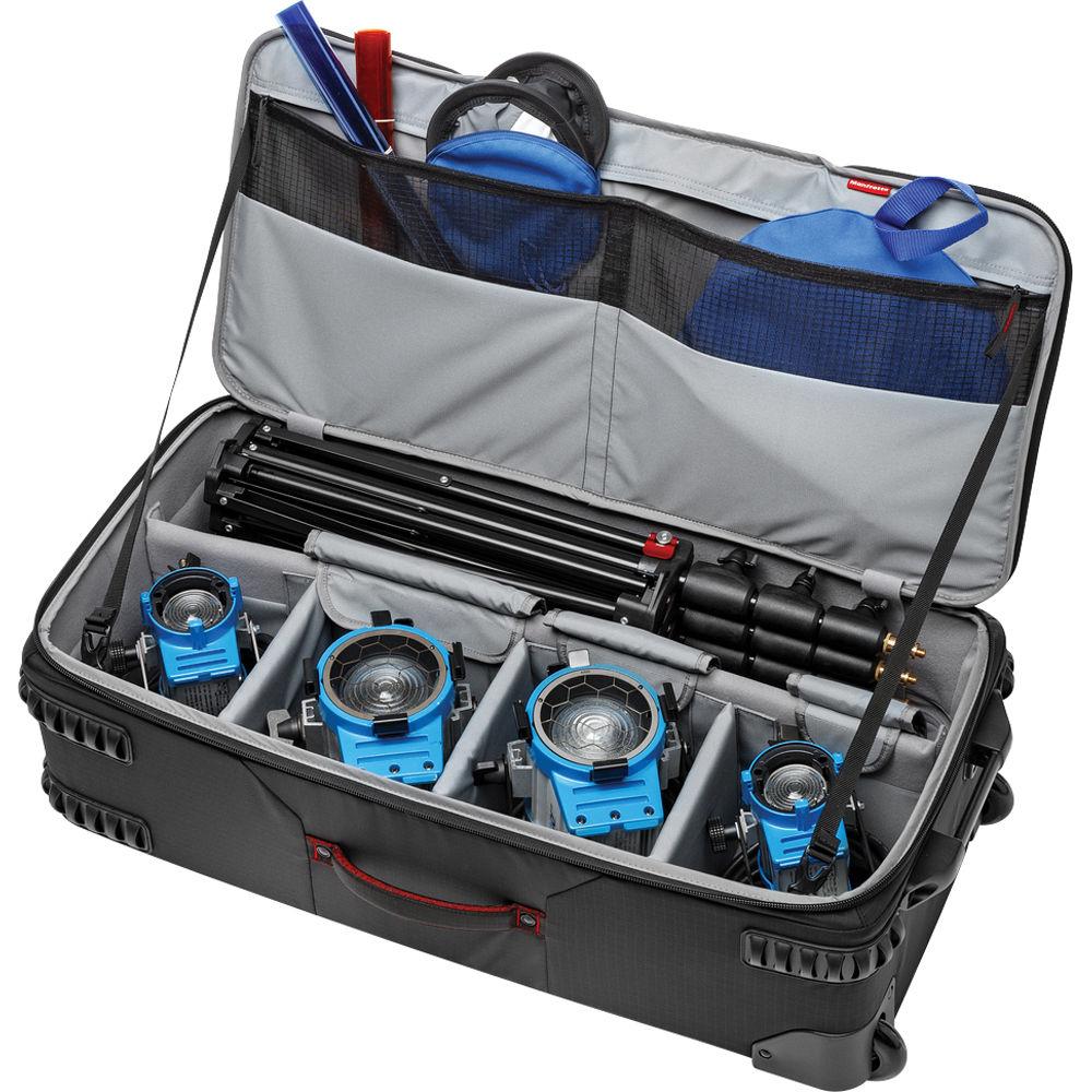 کیف تجهیزات نورپردازی Pro-Light Rolling Lighting Gear Organizer مانفرتو
