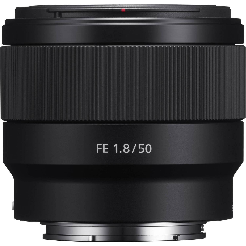 لنز 50mm سونی FE f/1.8