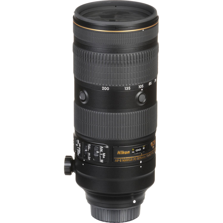 لنز نیکون AF-S Nikkor 70-200mm f/2.8E FL ED VR