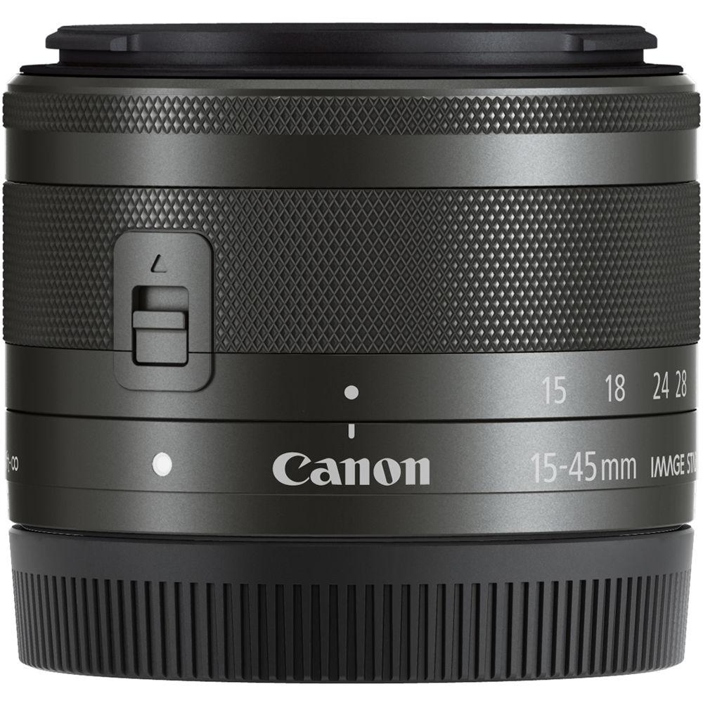 لنز کانن EF-M 15-45mm f/3.5-6.3 IS STM