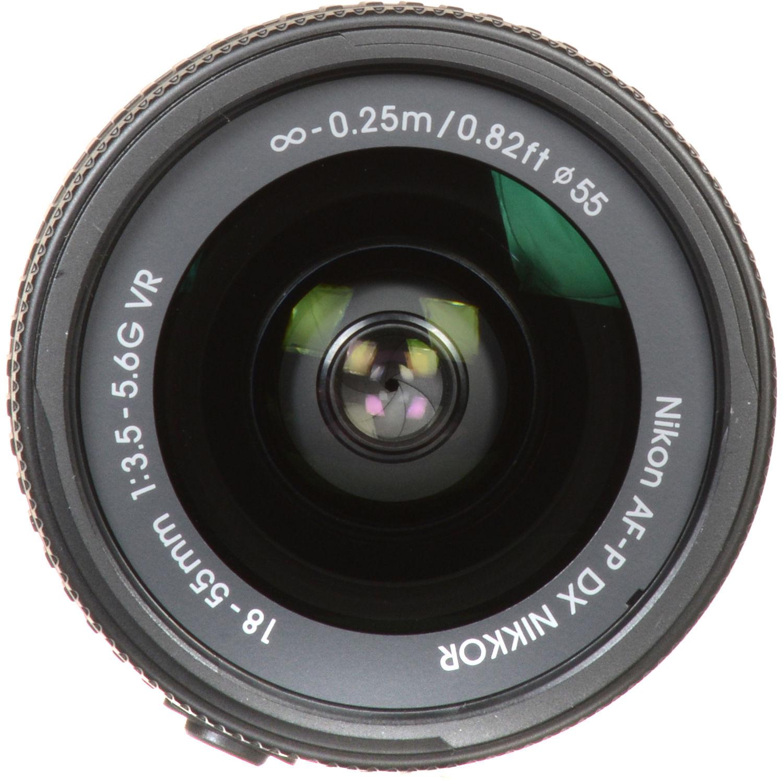 لنز نیکون AF-P DX Nikkor 18-55mm f/3.5-5.6G VR