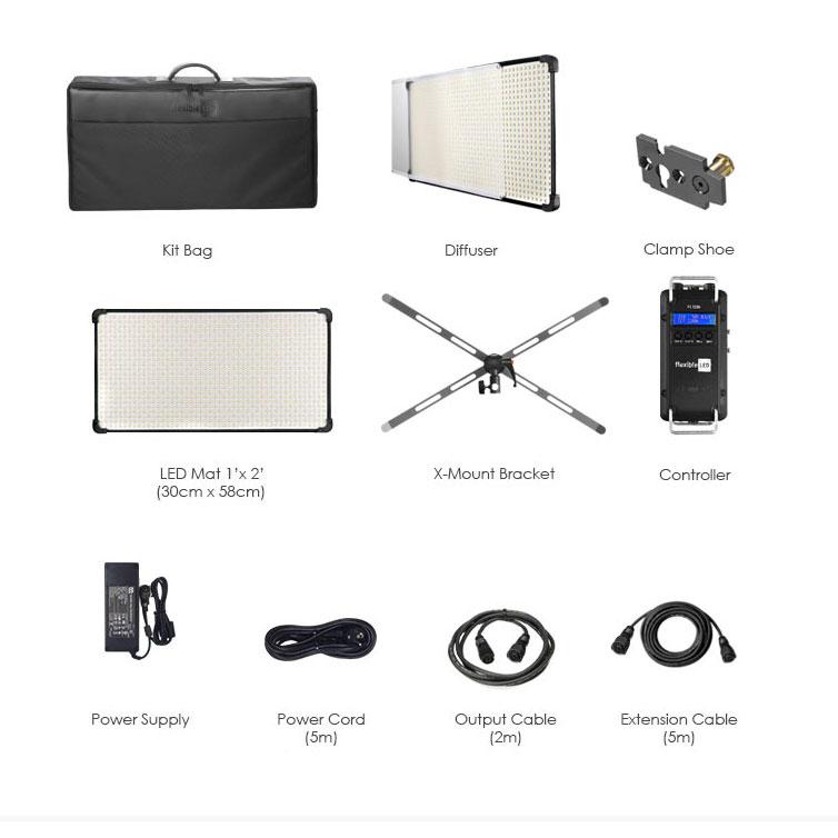 نور ال ای دی فومکس  Fomex Flexible LED FL1200