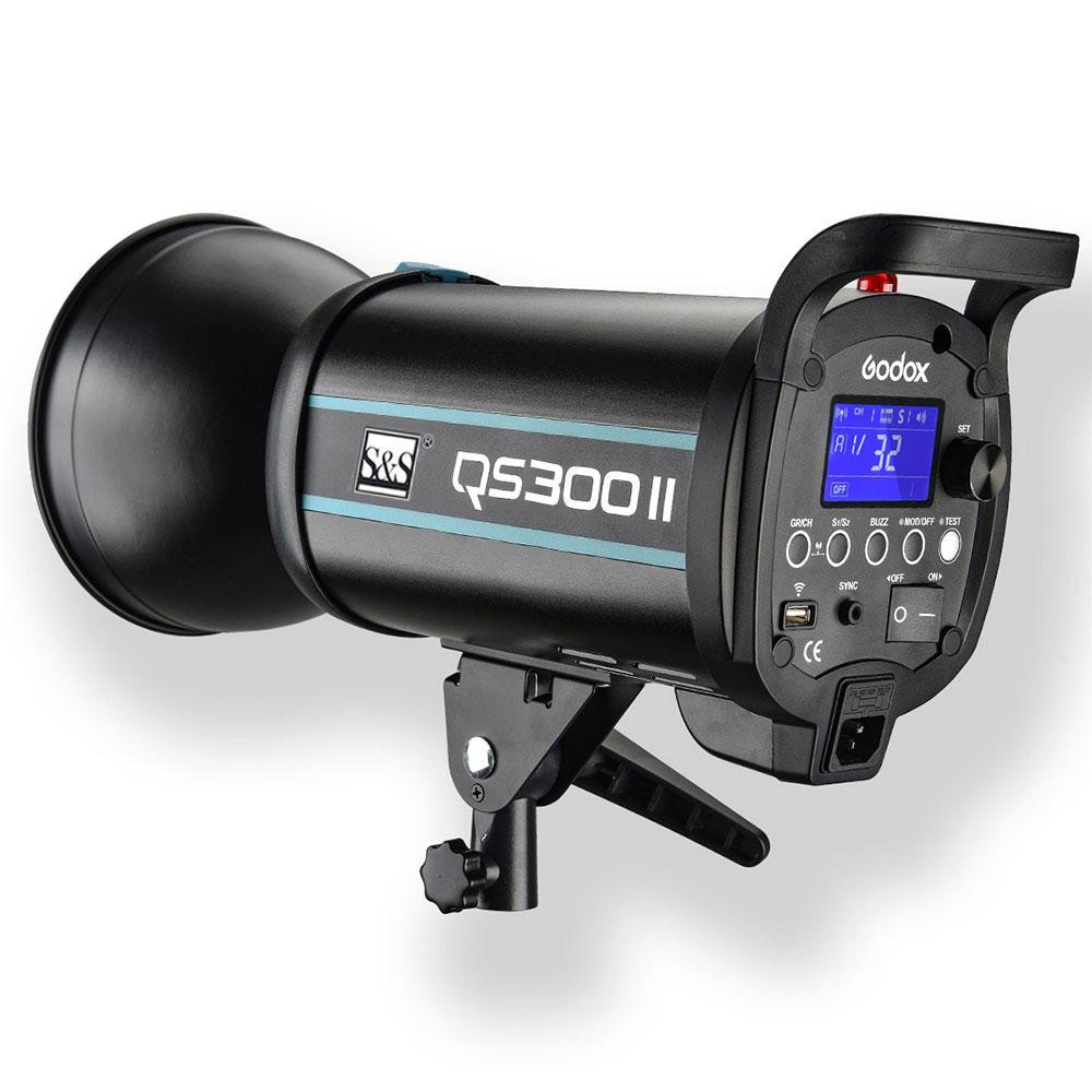 فلاش استودیویی  QS300II اس اند اس Studio Flash QS300II  S&S