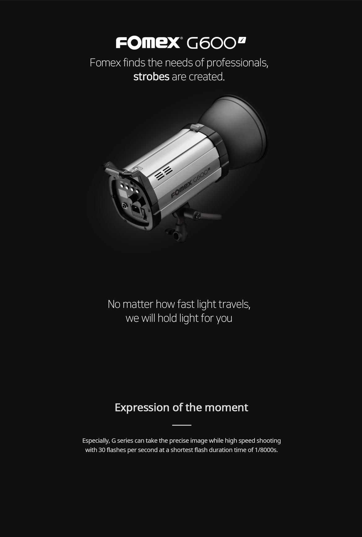 فلاش استودیویی 600 ژول فومکس (Fomex G Studio Flash 600ws (G600